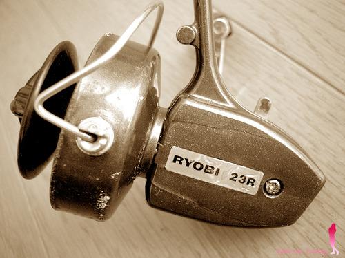 リョービ 小型スピニングリール 23R オールド