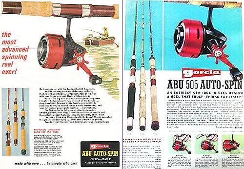 ABU 505 auto spin アブ500シリーズ