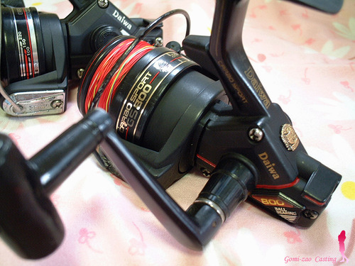 ダイワ カーボスポーツ GS800 小型スピニングリール