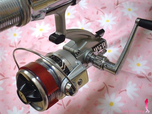 オリムピック スピニングリール ゼブラ3500 by アブのお姉さん