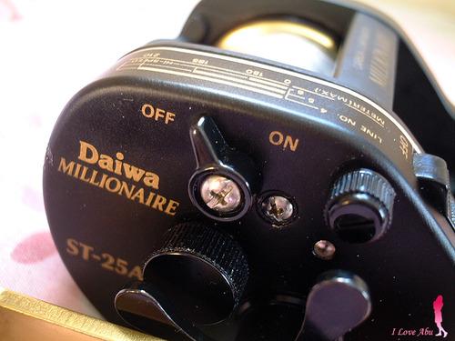 ダイワ ミリオネア ST-25AC ベイトキャスティングリール