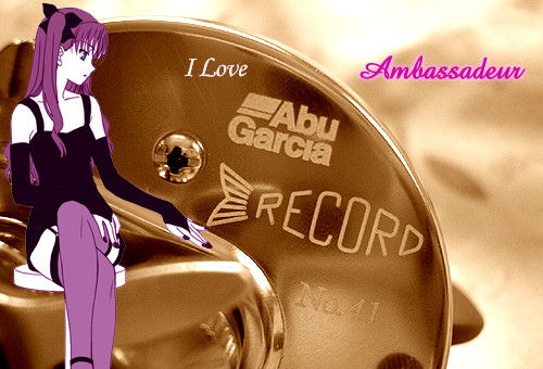 Abu ambassadeur New RECORD RCN 41&51&61★彡