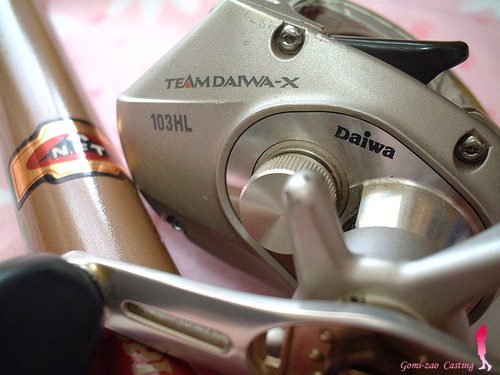 ダイワ TD-X 103HL ベイトリール♪