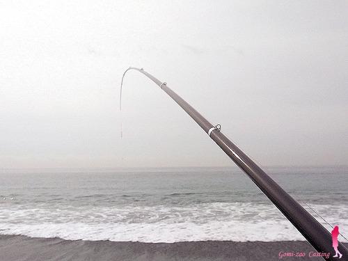 NFT 小磯 2008 磯竿で投げ釣り★彡