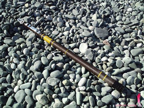 オリムピックの投げ竿 カスタム投振 3.9m 6pc