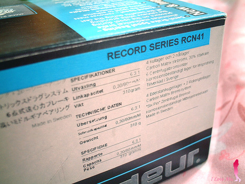 ABU ambassadeur RECORD RCN41★彡