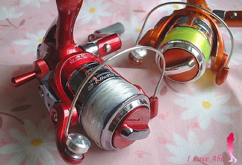 OGK ナイトスピン 光るスピニングリール 大阪漁具