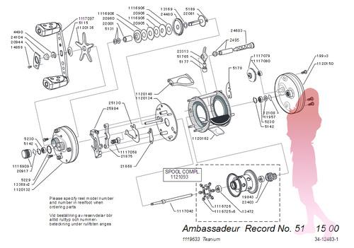 ABU ambassadeur RECORD schematic RCN★彡