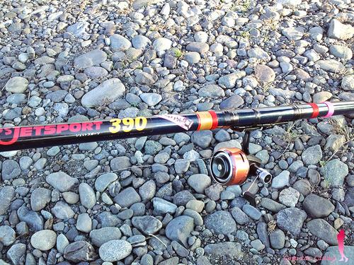ダイワの投げ竿でサビキ釣り