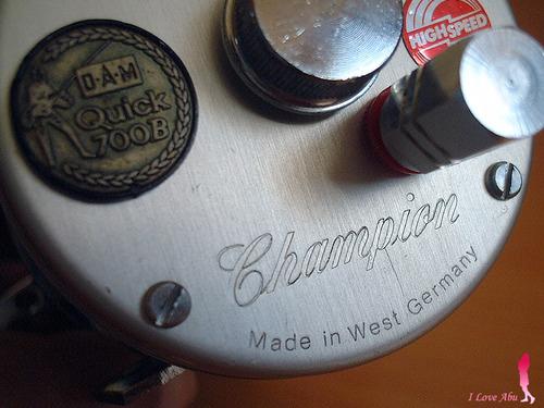 DAM ダム クイック チャンピオン 700B ベイトリール ドイツ
