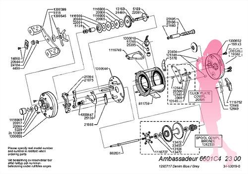 Abu ambassadeur 6601C4 Schematic Kyasaren