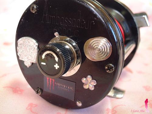 ABU ambassadeur モンスター6000 ブラック
