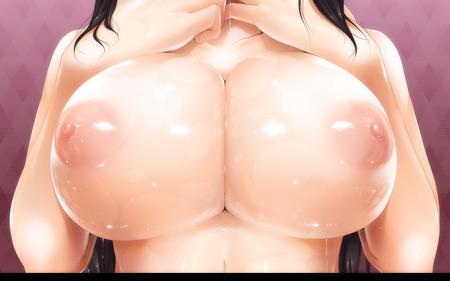 二次元美少女のつい揉みたくなるおっぱい画像49