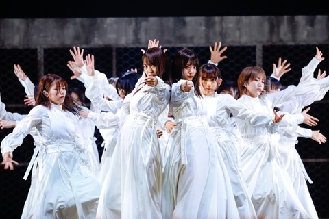 【悲報】櫻坂46さん、これからは日向坂46の2軍として細々と生きていくしかない