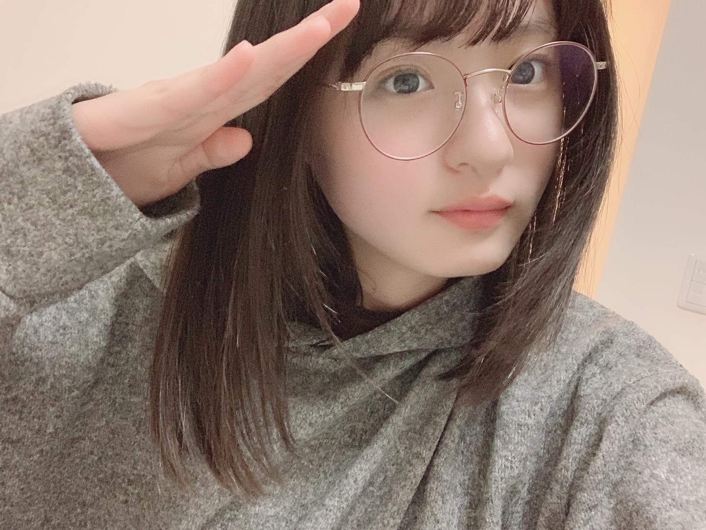 乃木坂46】遠藤さくらの丸眼鏡姿が可愛すぎるwwwww(画像