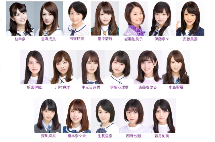「乃木坂46卒業メンバー」の画像検索結果