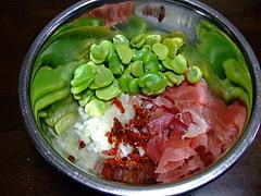 そら豆サラダ1
