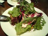 セップ茸のグリルと野菜サラダ