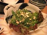 替鉢:壬生菜サラダ