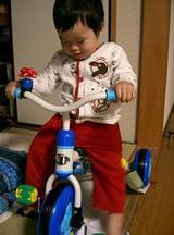 三輪車だー