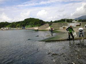 脇ノ沢漁港にて3