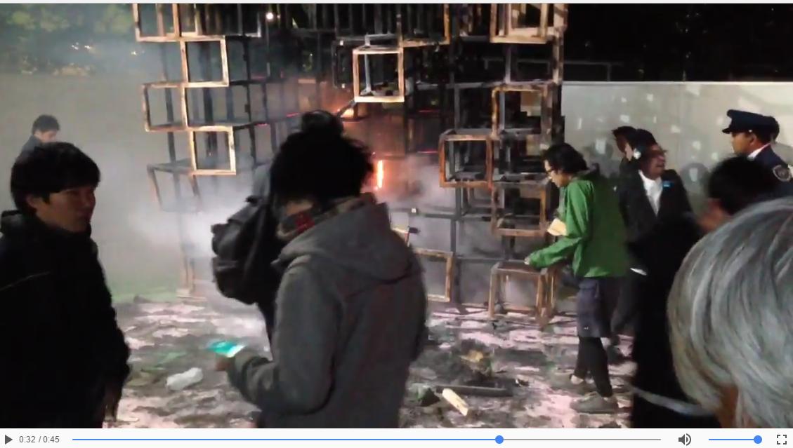 【事故】神宮球場で火事 子どもが一人死亡 東京都 : そらまめ速報