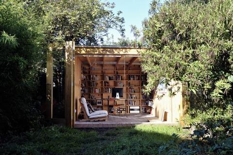 森の中の秘密基地的書斎