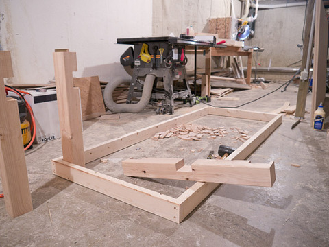 dining room table frame