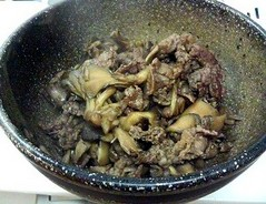 牛肉と舞茸の甘辛煮〜佃煮風