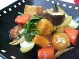 肉団子と野菜の甘酢あん