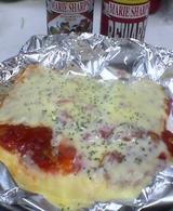 はんぺんのピザ
