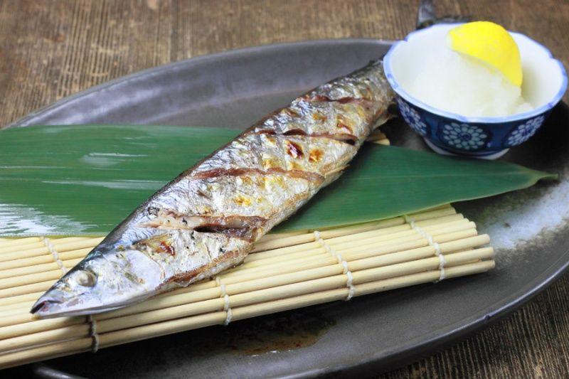 サンマ 焼き魚