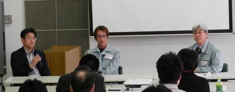 セミナー島内さん重澤さん講演