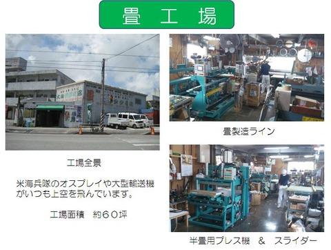 大山タタミ店(工場)