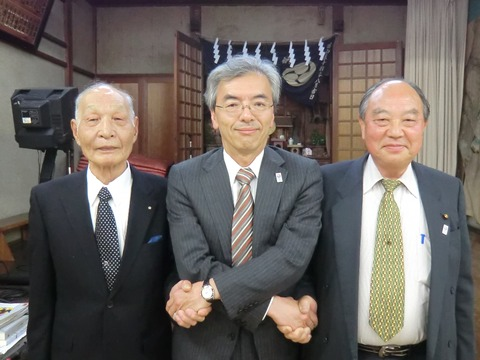 村上理事長と大矢副理事長