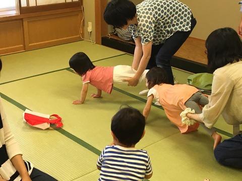 幼児クラス手押し