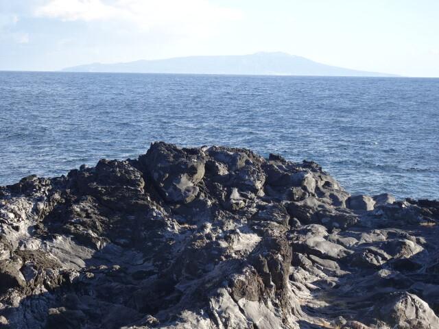 伊豆大島です