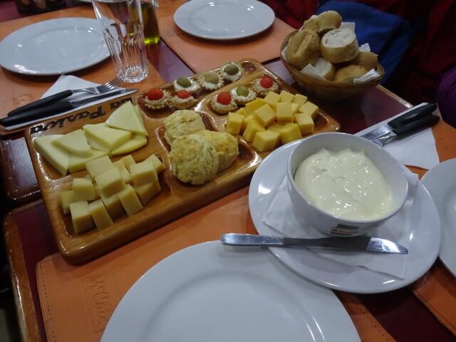 チーズの前菜