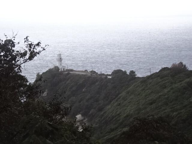 屋久島灯台遠望
