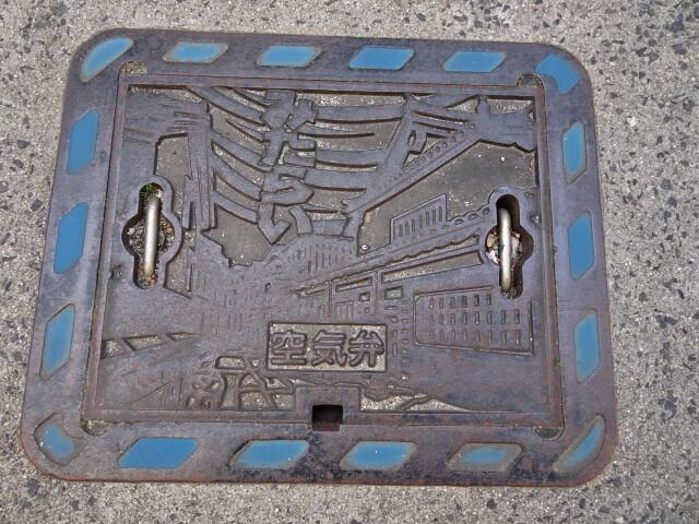 呉市豊町御手洗地区空気弁、デザインはすべて重要伝統的建物保存地区