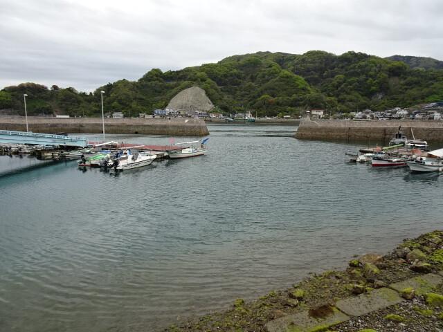 下蒲刈島の港
