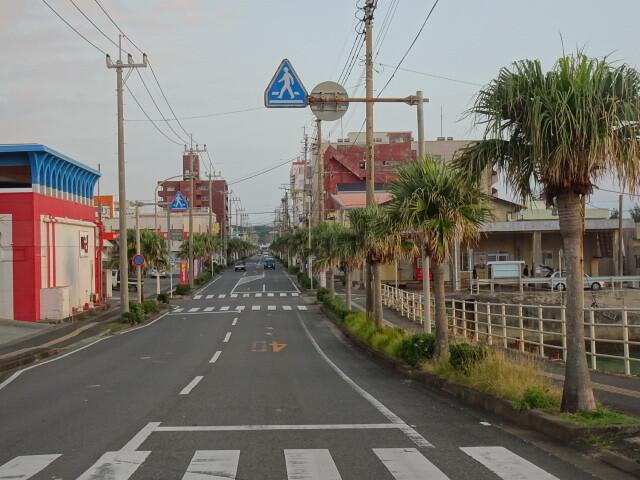 徳之島町メインストリート