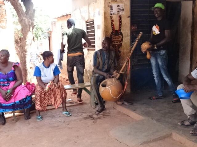 音楽の地区