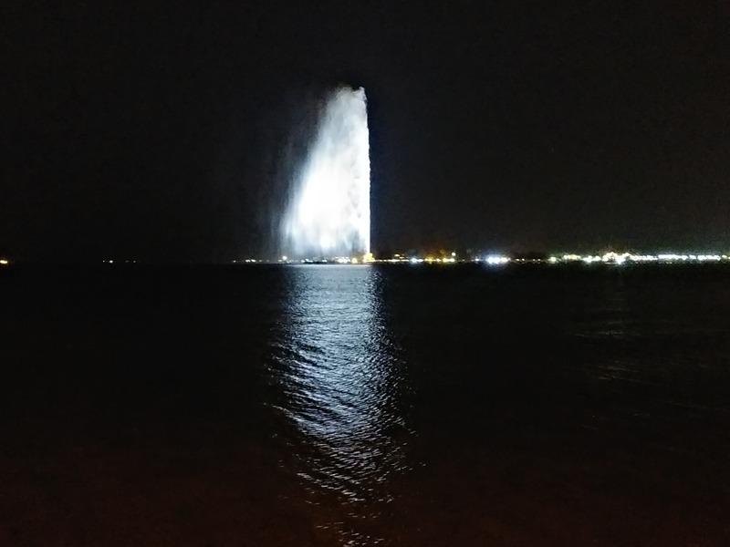 世界一の噴水