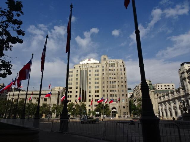 官邸前広場
