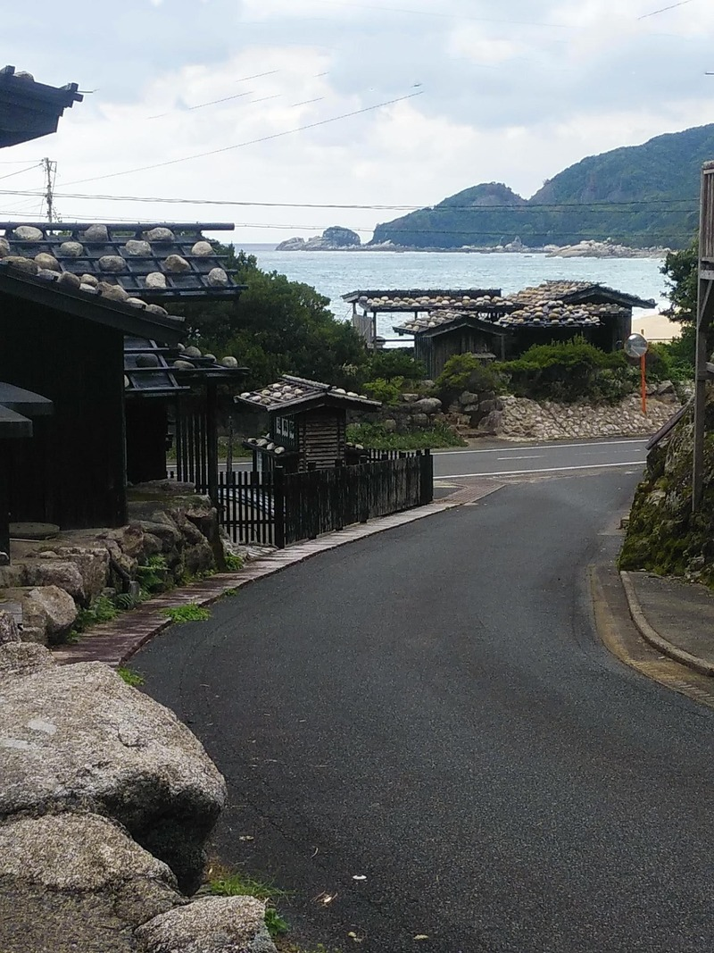 永田の通り