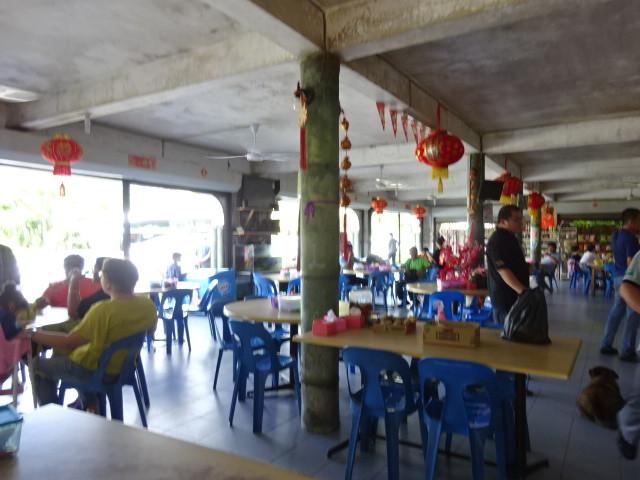 ドールピット村のレストラン