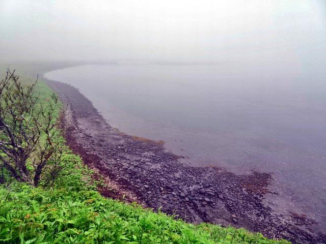 霧の風連湖