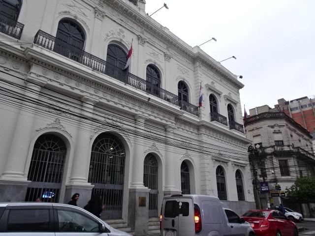 フランス式の建物