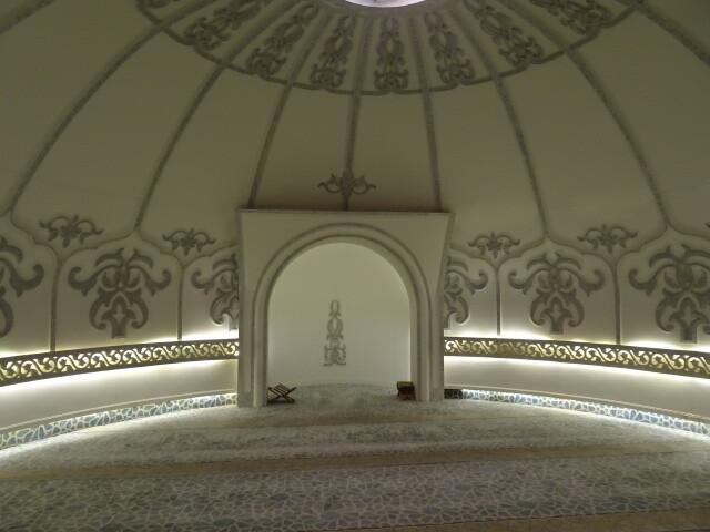 183mに有るモスク